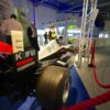 Formel 1 Simulator schwarz silber F1 Rennsimulator original Groesse