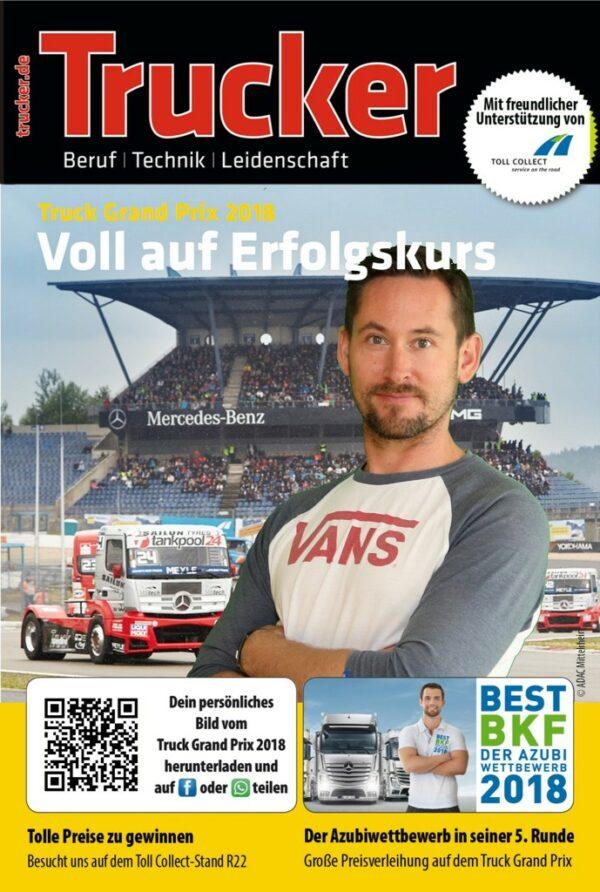 Fotobox Truck Grand Prix Fotoausdruck mit QR Code