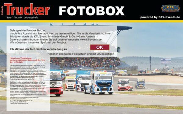 Fotobox mieten Trucker Einwilligung DSGVO
