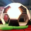 Hüpfburg Fussball XXL Sportfest Soccerevent