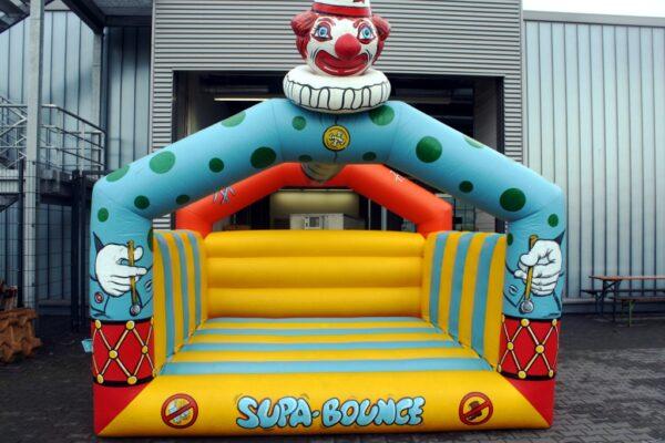 Hüpfburg Happy Clown 4x4 mieten