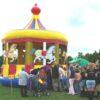 Hüpfburg Karussell Knaxfest Fulda