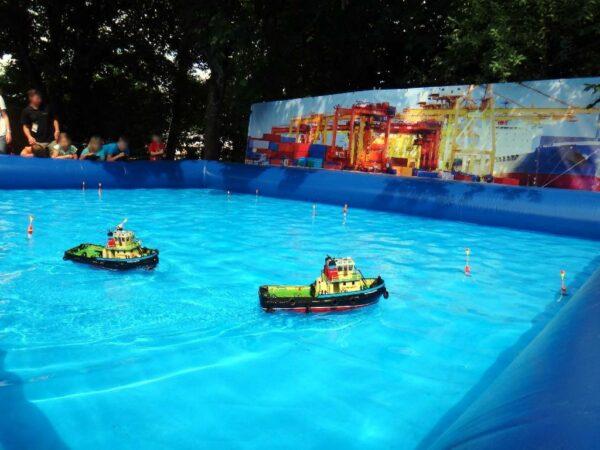 Hafenanlage RC Boote mieten