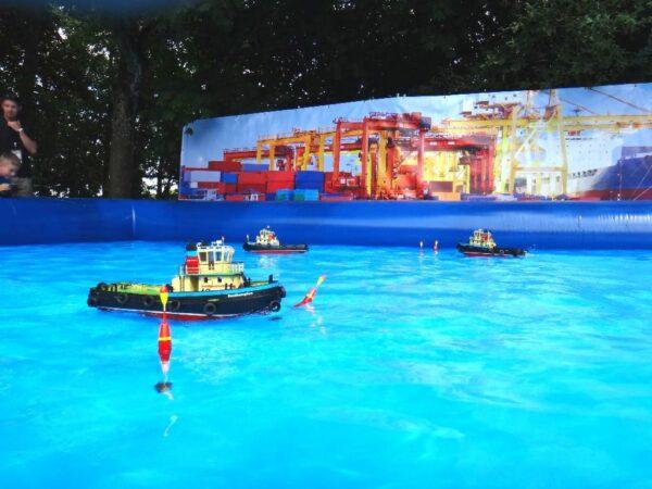 Hafenanlage ferngesteuerte Boote Vermietung