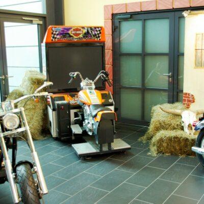 Harley Davidson Simulator mieten