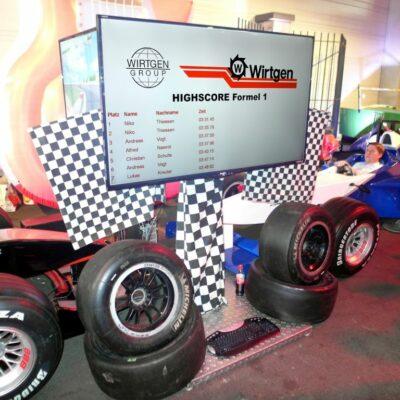 Highscore Rankingboard Top10 Bestenliste mit LCD Display mieten