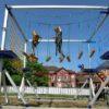 Hochseilgarten mobil Kinder mieten