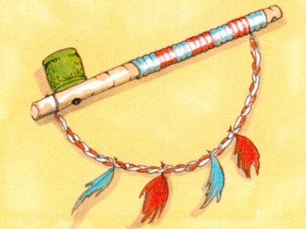 Indianer Kinderdorf Mitmachaktion