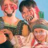 Indianer Kinderdorf Schminkaktion