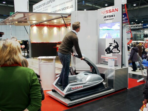 Jetski Simulator mieten Messemodell