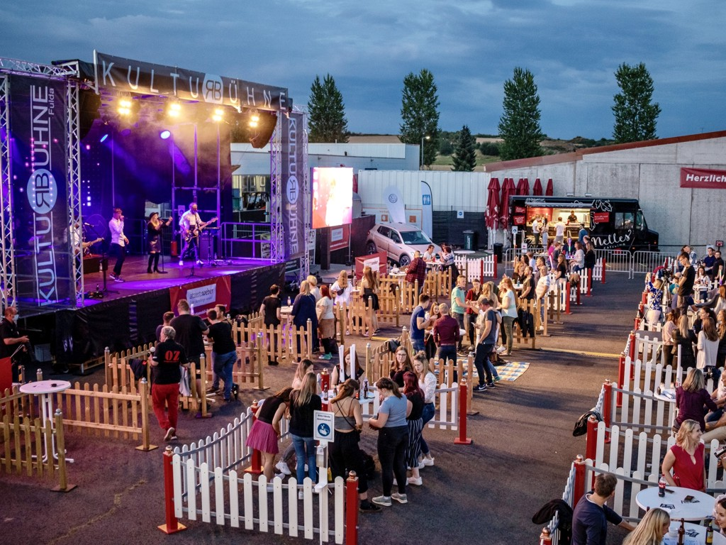 KTL Events Referenzen - Kulturbühne Fulda - coronakonforme Veranstalungsreihe