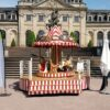 Karussell 12 Plätze Podiumkarussell Weihnachtsmarkt Kinderkarussell