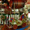 Karussell Menagerie Dampfkarussell Weihnachtsmarktkarussell LP12 Mall of Berlin