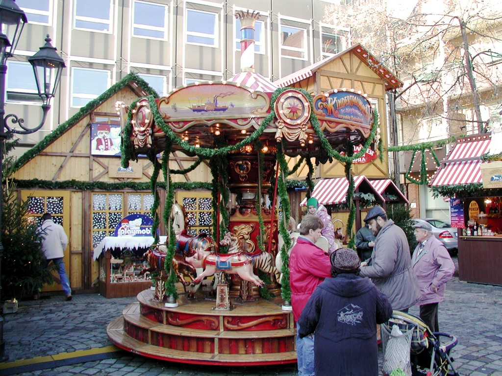 Karussell mieten Christkindlesmarkt Nürnberg
