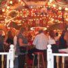 Karussellbar gross Champagner-Karussell-Bar