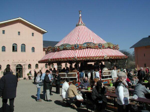 Karussellbar gross Karussell Dreh Bar