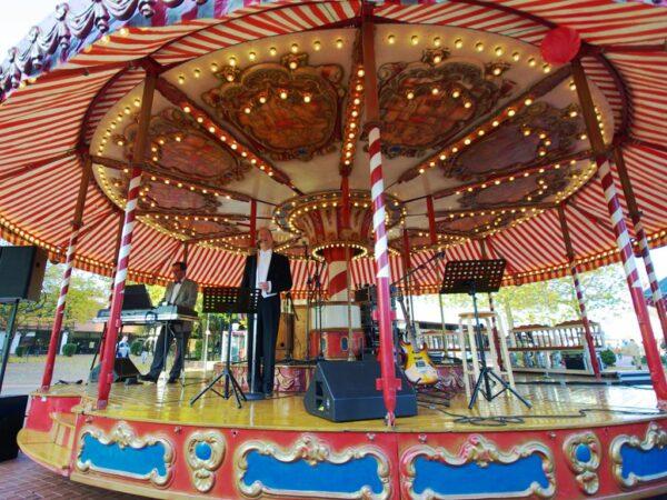 Karussellbühne besonderes Bühnenmobil