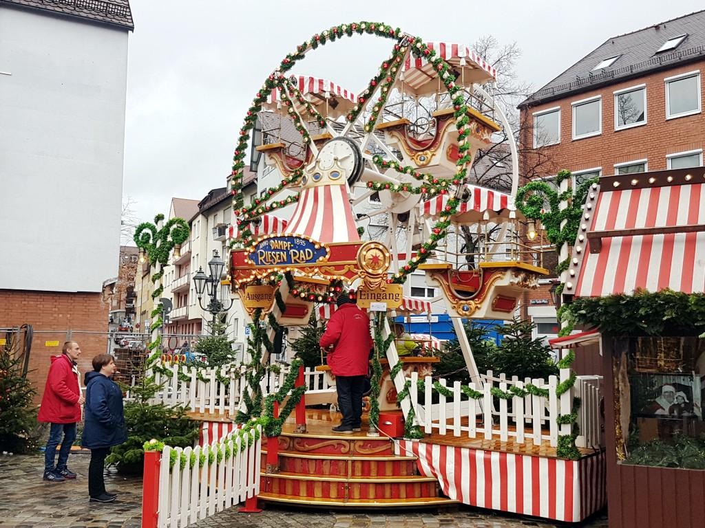 Kinder Riesenrad mieten Christkindlesmarkt Nürnberg Kinderweihnacht