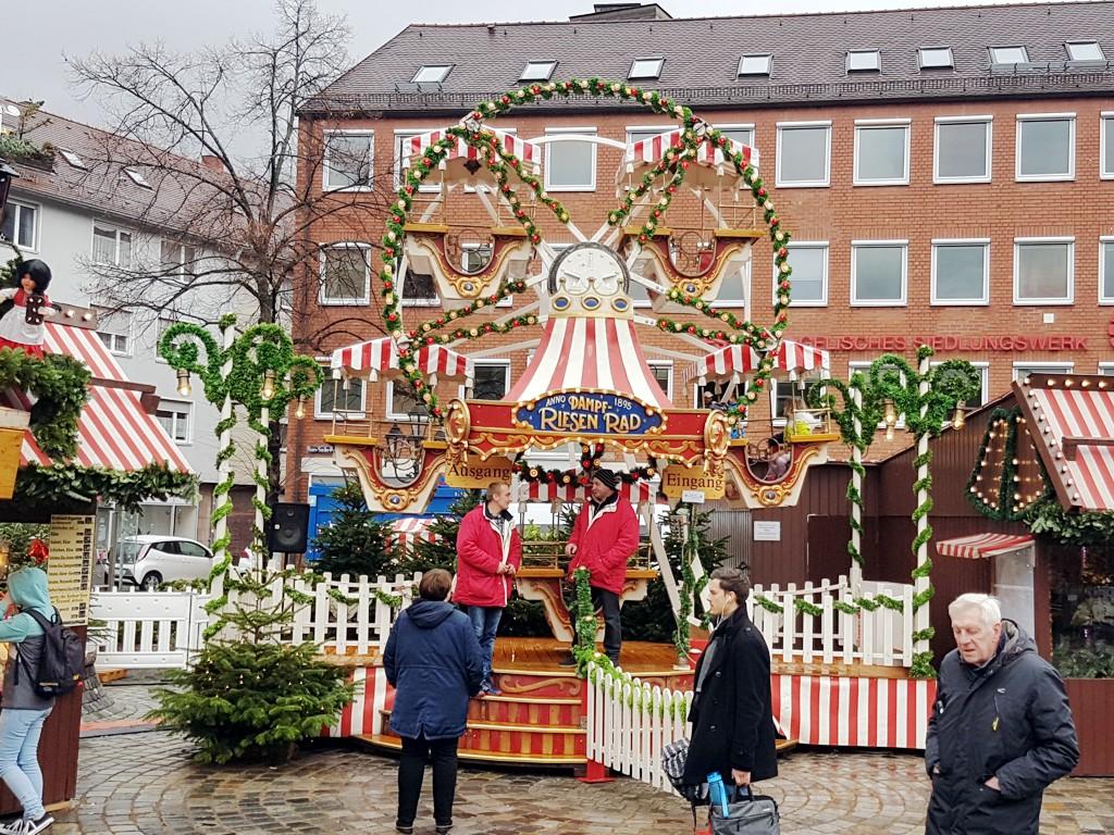Kinder Riesenrad mieten Christkindlesmarkt Nürnberg