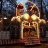 Kinder Riesenrad nostalgische Wolkenreise mieten russische Schaukel