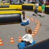 Kinderfahrschule Fahrzeugmanege Bobbycarparkour