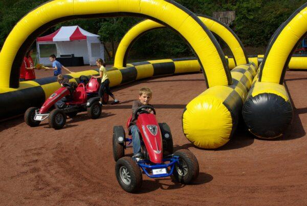 Kinderfahrschule Kettcars Führerschein für Kettcars