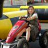 Kinderfahrschule Kettcars aufblasbare Sicherheitsumrandung