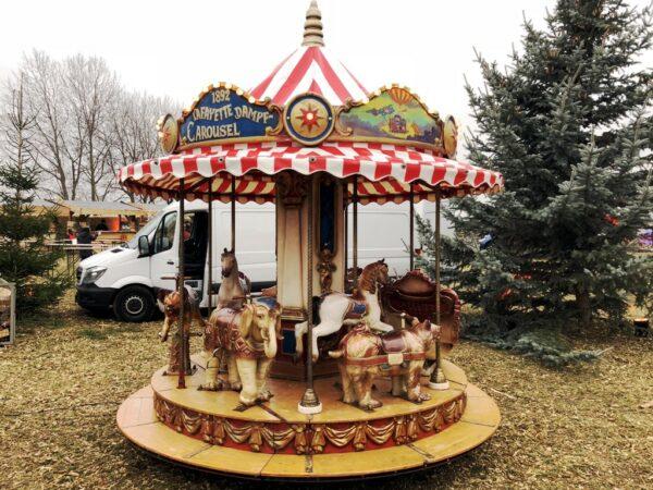 Kinderkarussell mieten Lafayette 10 Plätze Atelier Peter Petz