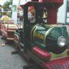 Kindertraumlandexpress Schieneneisenbahn für Kleinkinder outdoor