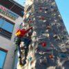 Kletterturm 3 Routen Kinder Erwachsene