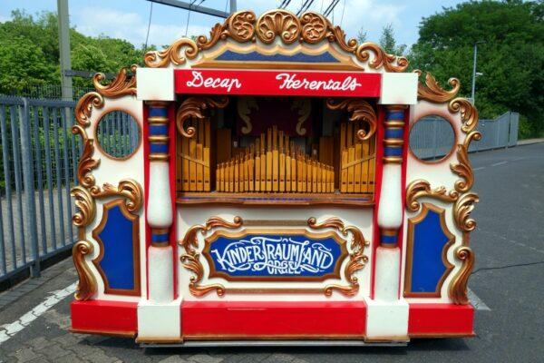 Konzertorgel mieten Nostalgie Jahrmarkt
