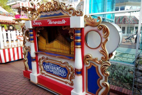 Konzertorgel mieten Steampunk Jahrmarkt der Jahrhundertwende