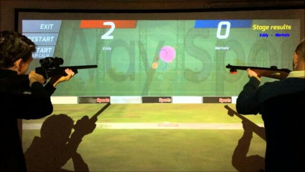Laser Shooting HD Tontaubenschießen mieten