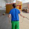 Lassowerfen auf Marterpfahl GoWest mieten