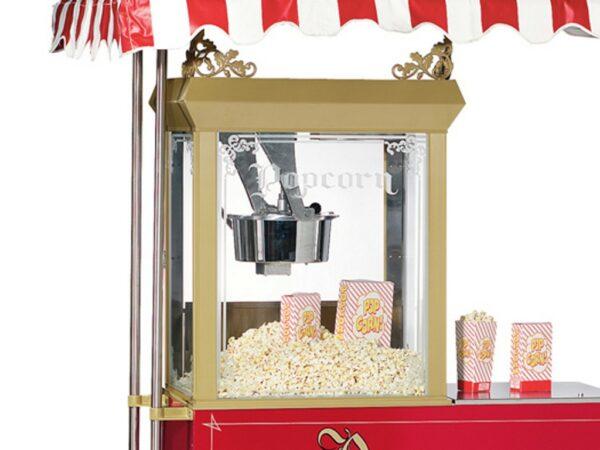 Leistungsstarke Popcornmaschine mieten 12oz