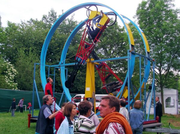 Looping Wheels mieten Überschlagfahrrad
