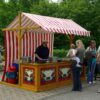 Marktstand mieten Crepesstand Popcorn Zuckerwatte