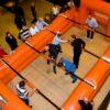 Menschenkicker (Kompaktversion) Maxikicker Teambuilding geringer Platzbedarf indoor Hotel
