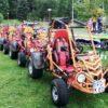 Mobiler Crosskart-Buggy-Offroadgeschicklichkeitsparcours Offroadbuggies mieten