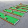 Mobiler Minigolfparcours mieten Minigolfbahnen