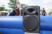 Musikanlage mieten mobile PA Soundsystem Akkubetrieb