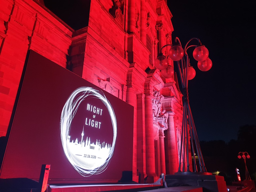 Night of Light Fulda Dom Alarmstufe Rot