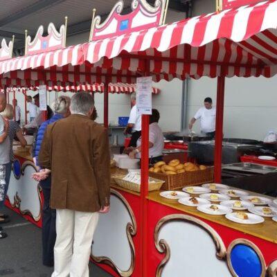 Gastronomie- & Verkaufsstände