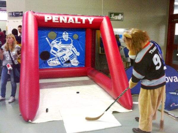 Penalty Shoot Out Eishockeytorwand