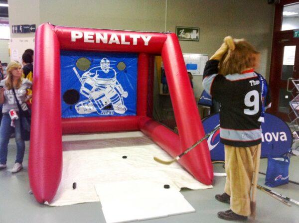 Penalty Shoot Out Eishockeyzielschiessen mieten