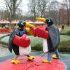 Pinguin Fighting Ringen Sumo Kostüm