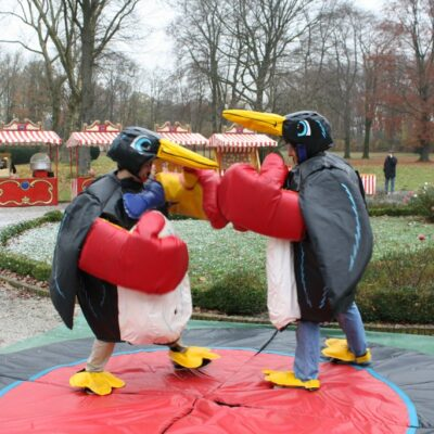 Pinguin Fighting Ringen Sumo Kostüm
