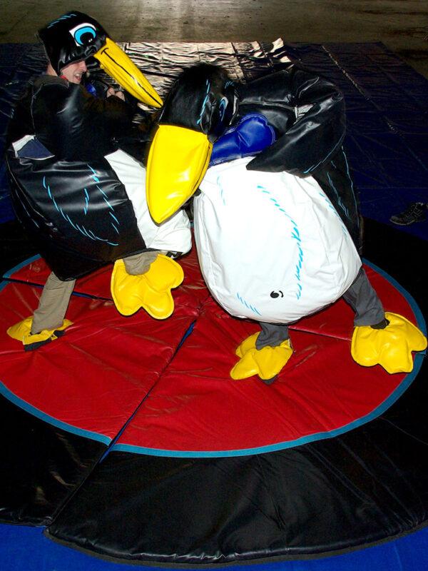 Pinguin Fighting Wrestling Anzug