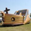 Piratenschiff Abenteuer-Hüpfburg XL