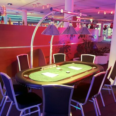 Pokertisch mieten mobile Casinotische